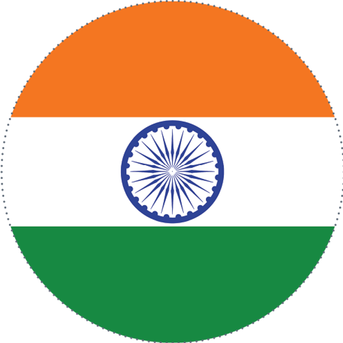 Indian Flag Circle Png - PassionX